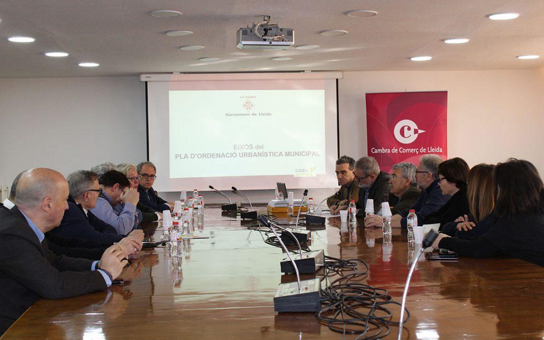 La Cambra acull la presentació del POUM a l'empresariat lleidatà
