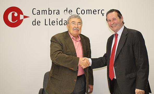 La Cambra de Comerç de Lleida i Alumni UdL col·laboren per impulsar la formació i el reciclatge dels antics alumnes de la UdL