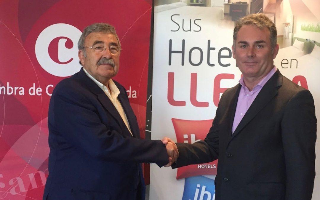 Els socis del Club Cambra disposaran d'un descompte VIP a l'Hotel Ibis Lleida