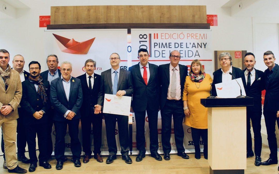 Biovert S.L. va ser escollida com la pime de l'any de Lleida