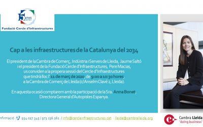 Cap a les Infraestructures de la Catalunya del 2034