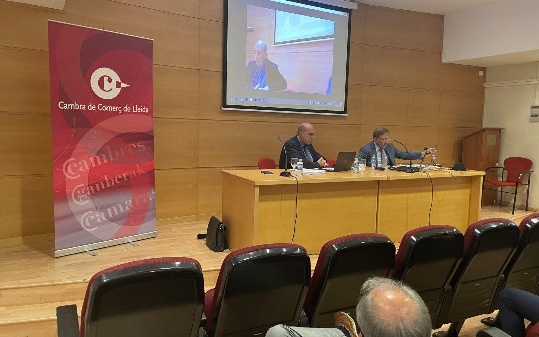 Jornades formatives i de debat en l'àmbit legal, a la Cambra de Comerç de Lleida