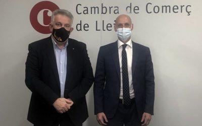 Acord de col·laboració entre la Cambra de Comerç de Lleida i l'editorial Lefebvre