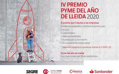 Convocatòria Premis PIME de l'Any 2020